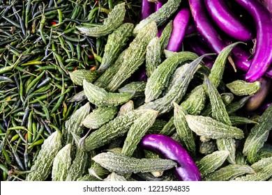 Myanmar Market Produce Images, Stock Photos & Vectors