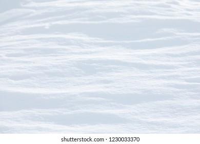 Fresh snow waves background