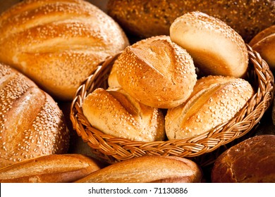 Fresh and soft tasty bread