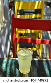 fresh squeezed cold lime drink patio restaurant,Baja,Mexico