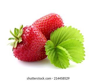 Fresh strawberry close-up.