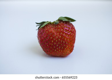 Fresh strawberry on the table