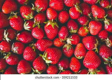 Fresh Strawberry toned Background