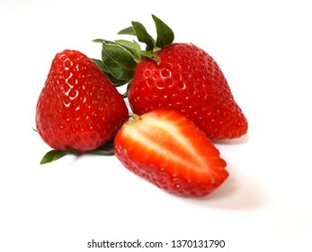 Fresh straweberry fruits