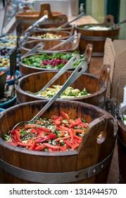 Fresh Street food at St Nics Market in Bristol