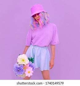 Girl 90s Aesthetic Images Stock Photos Vectors Shutterstock