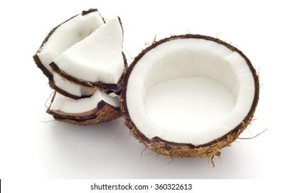 Fresh Suntan in Half Coconut Shell; non sharpen
