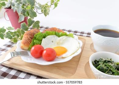 Fresh and tasty breakfast