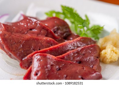 Fresh and tasty liver
