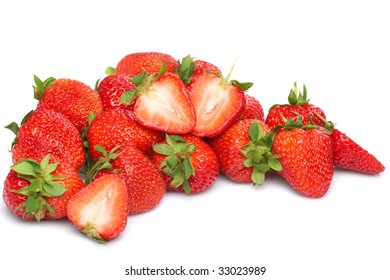 Fresh and tasty strawberries