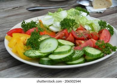 Fresh tasty vegetable