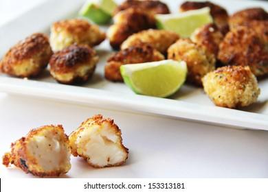 Fresh tender lobster lightly fried in panko