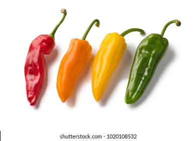 Pepper Varieties Stock Photos, Images & Photography