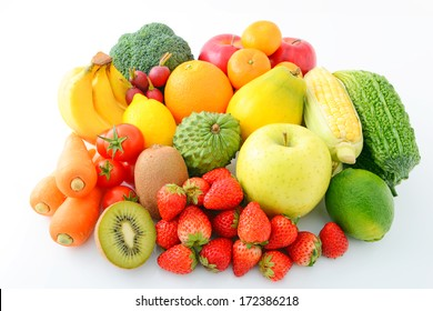 Fresh vegetable and fruit