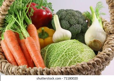 fresh vegetable for minestrone - Shutterstock ID 71180020