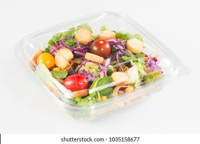 fresh vegetable Takeaway salad