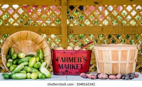 Fresh vegetables from a Farmer's Market