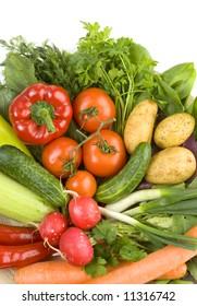 fresh vegetables, healthy diet
