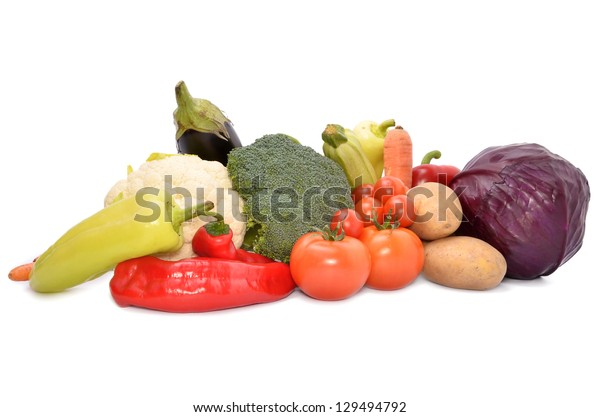 Fresh vegetables mix