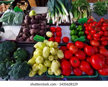 fresh vegetables on croatia market