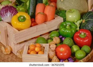Fresh vegetables organic for healthy