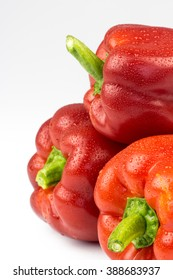 Fresh vegetables Red Peppers