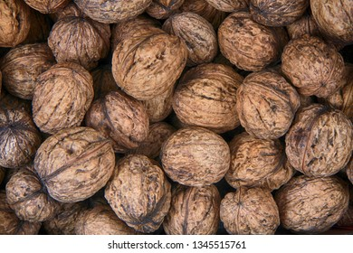 fresh wallnuts texture as very nice natural food background