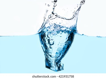 fresh water and bubbles - splash