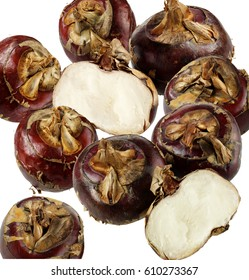 FRESH WATER CHESTNUTS CUT OUT