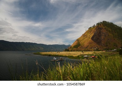 Fresh water lake (Danau Laut Tawar) in Takengon Aceh, Indonesia