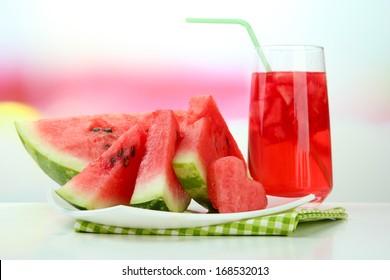 how to make fresh watermelon juice