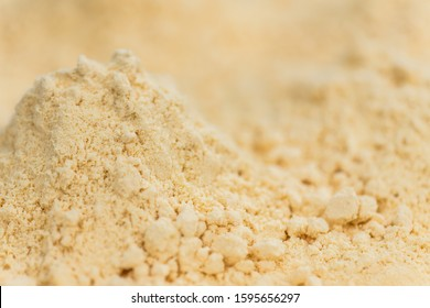 Fresh Whole Powdered Eggs as detailed close-up shot (selective focus)