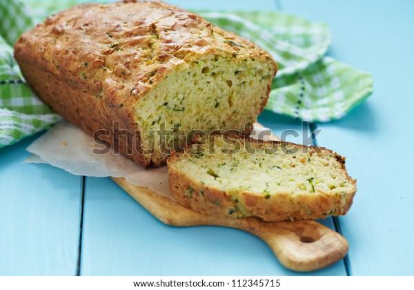 Fresh zucchini bread