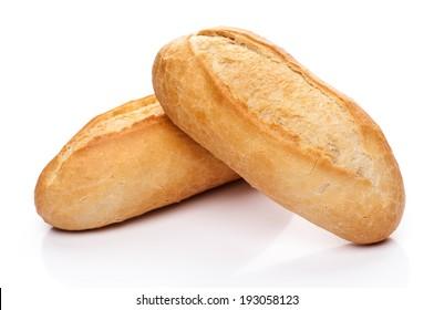 Freshly baked bread rolls