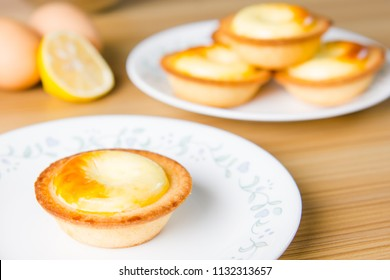 freshly baked cheese tart