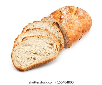freshly baked homemade tradtional hand sliced bread