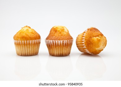 freshly baked muffins and  ready to eat