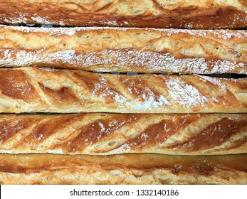 Freshly baked tarditional french bread