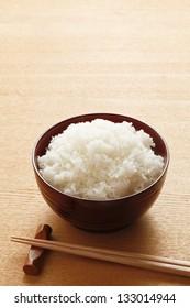 Freshly cook rice