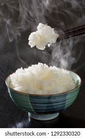 Freshly cooked rice