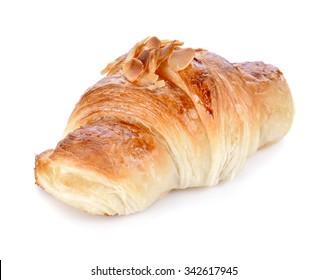 Freshly Croissant Isolated on White background