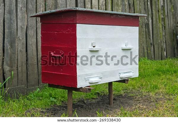 freshly-painted-hive-20-frames-600w-2693