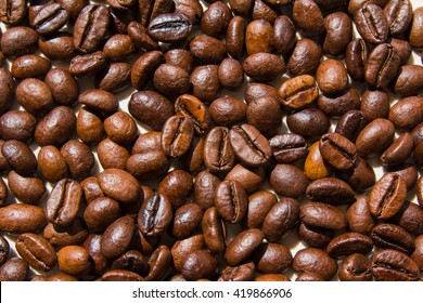 freshly roasted coffee beans / flavored coffee beans