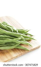 freshness green bean from Japanese for summer vegetable image