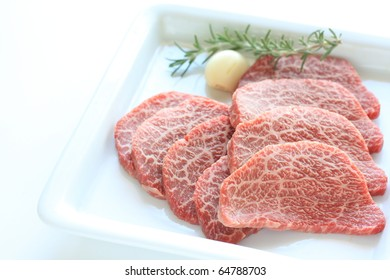 Freshness Japanese Kobe beef for Korean BBQ