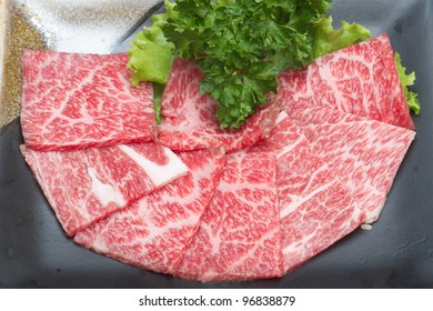 Freshness Japanese meat for  BBQ