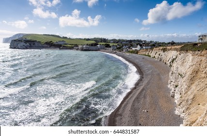Freshwater Bay on a breezy May Day