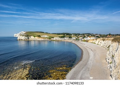 Freshwater Bay on the Isle of Wight in the south of England
