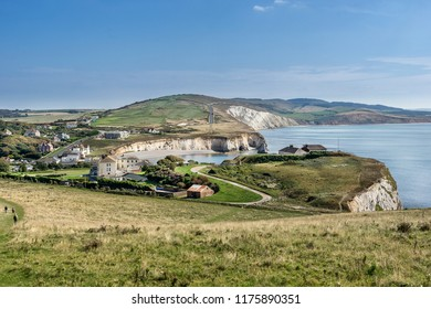 Freshwater Bay on the Isle of Wight in England