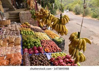 Fressh fruit on the market.
